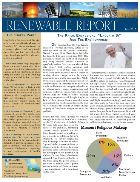 July Renewable Report